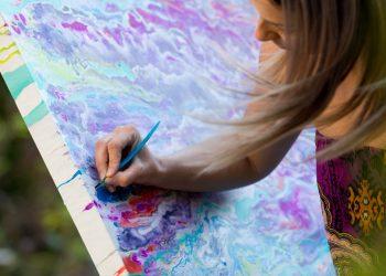 Joanna Ratajczyk - malarstwo akrylowe