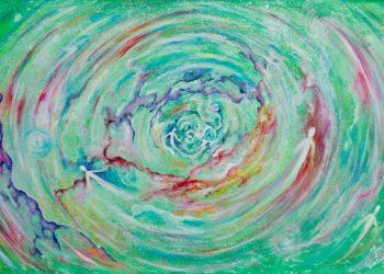 Obraz akrylowy z intencją 60x90